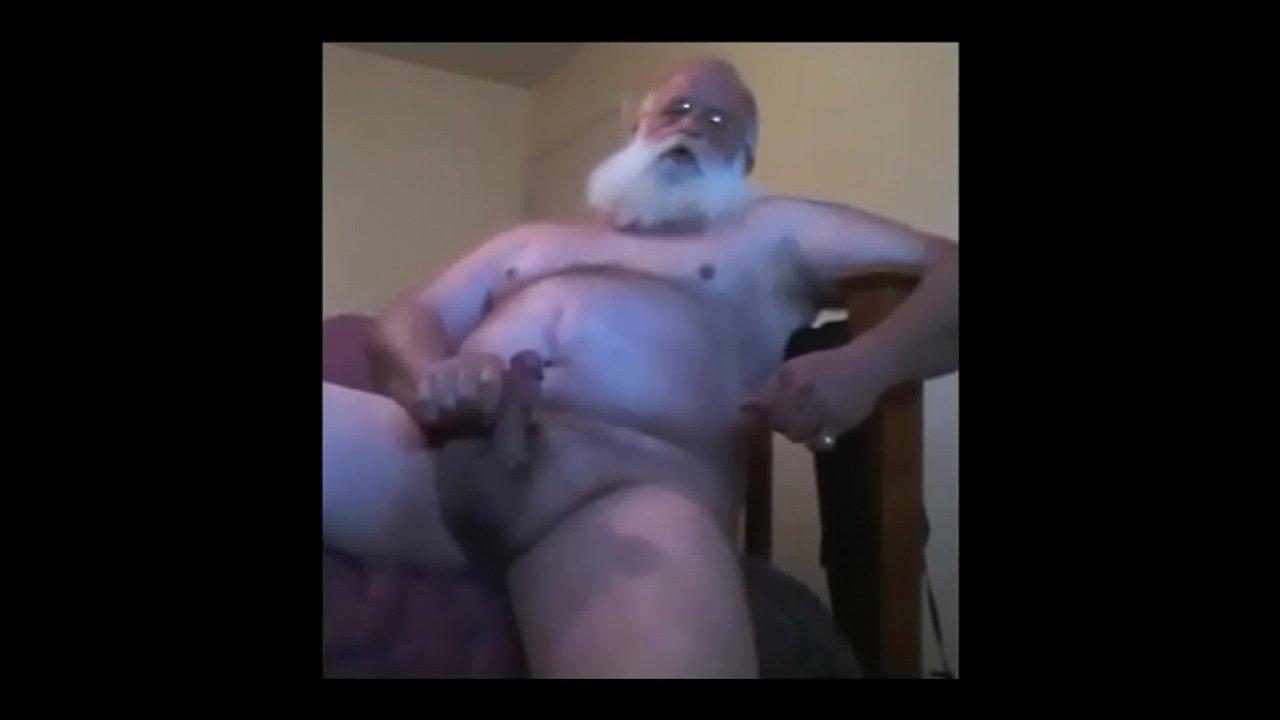 Men cum old Older Man