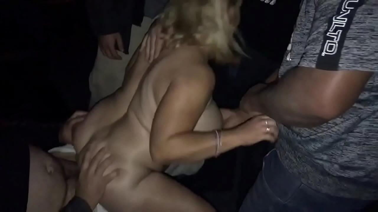 Amateur Blonde Bbc Gangbang
