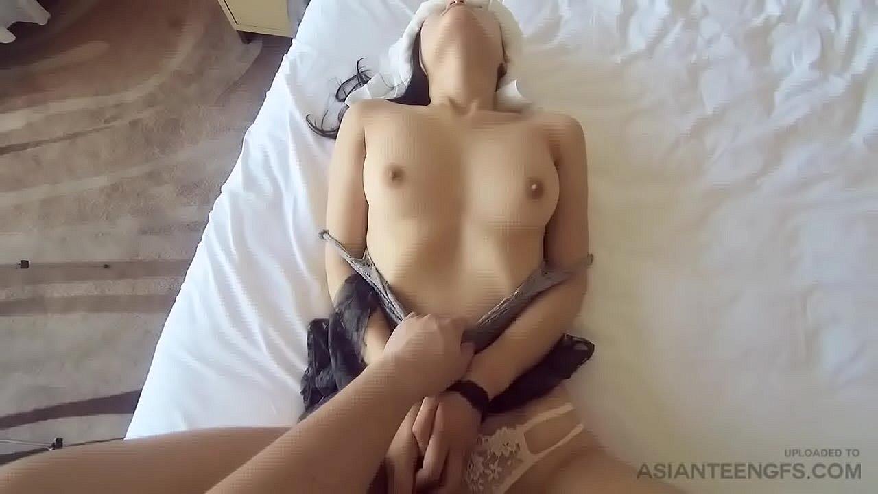 Beautiful college girl fucks in a hotel