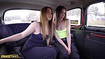 Fake Taxi Hot Steamy 3 Way with Latina babes An...