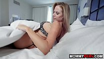 Mommy and stepson sharing a hotel bed - taboo f...