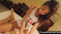 Tiny filipina teen gets her pussy destroyed and...