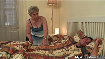 Watch Old woman uses sleeping son-in-law preview