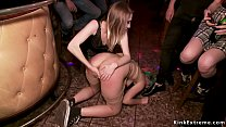 Spanish punk princess Liz Rainbow dragged in pu...