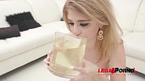 Sara Bell drinks huge bowl of piss and gets her...