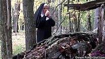 Nuns fuck outside