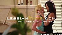 LesbianCums.com - Kinky Teen Fingering Mom Pussy