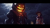 Witch Mercy X Reaper Halloween Animation by Yeero Thumbnail