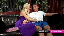 British blonde pornstar Lexi fucks Marc Rose at...