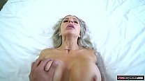 Mature stepmom wants affection because she foug...