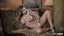 Karma is excited and wants to tease you by touc...