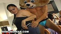 DANCING BEAR - Male Strippers Sling Big Dick At...