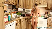 Pretty Young Babe Kimber Lee Loves to Play!  Ki...