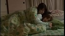 Lesbians japanese kissing