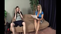 Watch Amber Lyn Bach vs long cock preview