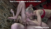 Oiled up and ready to cuckold