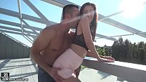Watch Darcia Lee knows how to use her feet preview
