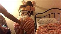 Dress, Nightie, Panties, Heels & Fishnet, Blowj...