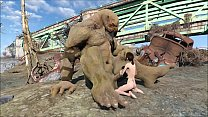 Fallout 4 Giant Super Mutant