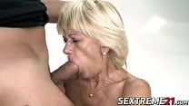 Naughty granny_bouncing on younger dick Thumbnail