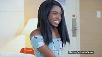Chocolate amateur white cocked on casting