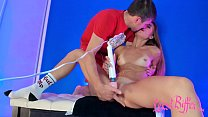 Babe Hard Rough Sex and Deepthroat after Play P...