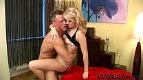 Blonde Step Sis Blows The 8 Inch Wiener