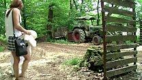 Dem Freier im Wald gefickt - Parkplatz - Amateu...