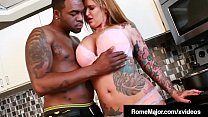 Hot White Babe, Payton Sin Claire, gets her blo...