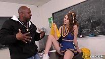 Black Cock Slut Teen Alex Blake Enjoys Interracial Sex With Her Coach Thumbnail