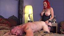 Monster tits redhead MILF femdom Mz Berlin is h...