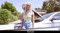 FILF - Elsa Jean Enjoys Ride On Big Black Cock
