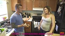 Watch Threesome with babysitter wife forced to watch preview