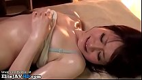 Jav cute 18yo girl enjoys special massage
