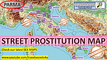 Parma, Italy, Prostitution Map, Public, Outdoor...