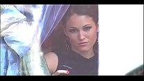 Young Ryan Keely Walking In Public Flashing Her...