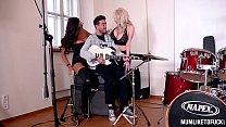 Rhythmic Exercises - Two Busty Babes Get Fucked by Music Teacher Thumbnail