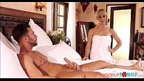 Sexy Blonde Stepmom Cherie DeVille Rough Fuck F...
