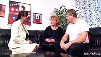 Reife deutsche Ehefrau und ihr Mann erleben ers...