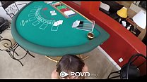 Watch POVD Private blackjack dealer Charlotte Cross fucked by home owner preview
