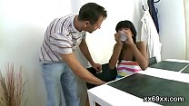 Doc assists with hymen examination and virginit...
