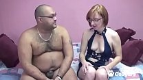 Layla Tries Her Best To Fuck A Fat Mans Little ...