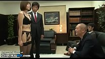 Jav big tits assistant in stockings has rough sex