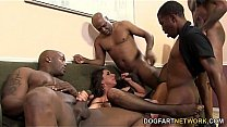 Kaylynn Gets Gang Banged By Black Guys