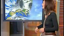 Weathergirl's bad choice of clothes Thumbnail