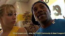 Adrianna Lets A Black Guy Fuck Her Bubble Butt