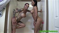 Anna Bell Peaks And Rachel Starr Sexy Shower's Thumb