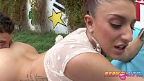 Mischa Brooks ass fucked by Mike Adriano