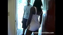 Black amateur has her tight pussy fucked hard b...
