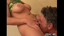 Wicked Kate with firm natural tits enjoying oral